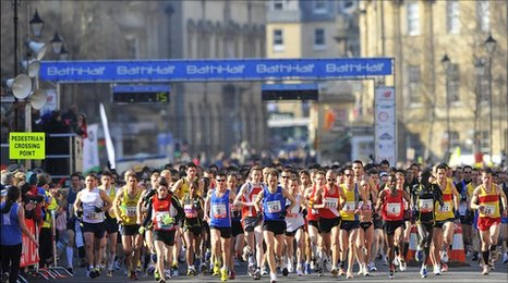 Bath half-marathon 2010