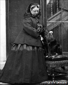 Queen Victoria with Sharp