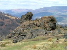 Blaenavon's Iron Mountain trail
