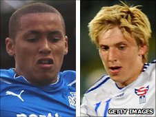 James Tavernier and Joan Simun Edmundsson