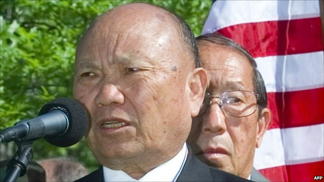 Former Hmong general Vang Pao (archive photograph)