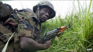 Ecowas troop training (2003)