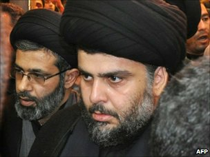 Moqtada Sadr arrives in Najaf (5 January 2011)