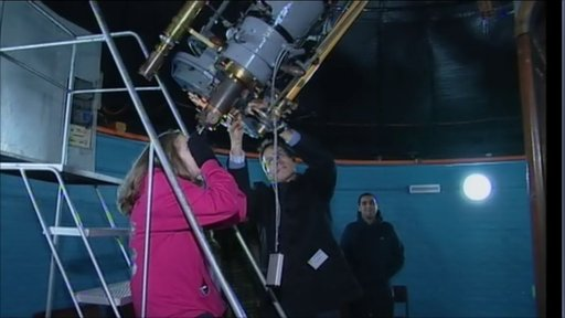 Stargazing at the Keele Observatory