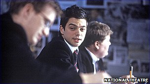 Dominic Cooper in the History Boys