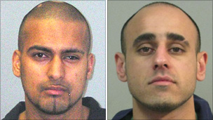 Mohammed Liaqat, 28, and Abid Saddique, 27