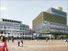 Artist's impression of how the new REP building will look