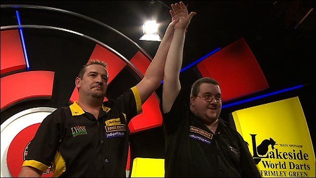 Dean Winstanley beats sorry Stephen Bunting at Lakeside