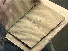 A book inscribed to Tennyson's son Lionel