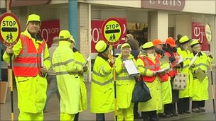 lollipop people protest