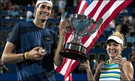 John Isner and Bethanie Mattek-Sands