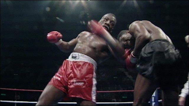 Boxing highlights - Gary Mason v Lennox Lewis in 1991