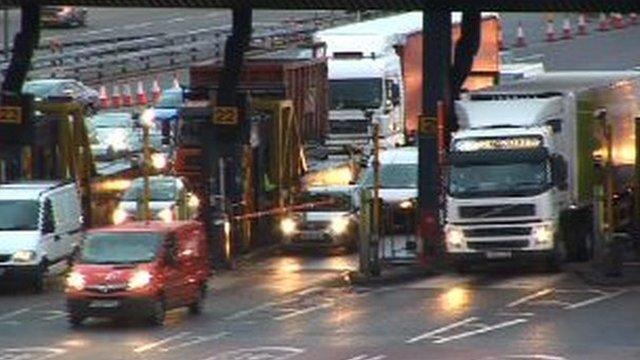 Traffic in Dartford