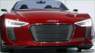 Audi e-tron spyder, Reuters