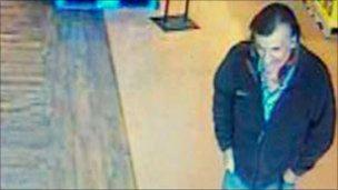 CCTV image of man in Tucson, Arizona, 9 January 2011