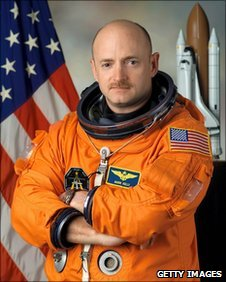Astronaut Mark Kelly, Nasa file pic from January 2005