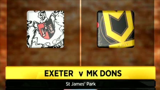 Exeter 1-1 MK Dons