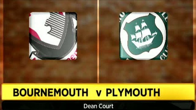 Bournemouth 3-0 Plymouth