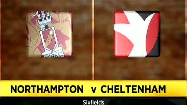 Northampton 1-1 Cheltenham