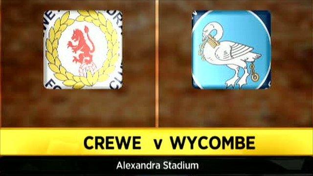 Crewe 3-0 Wycombe