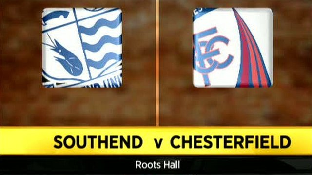 Southend 2-3 Chesterfield