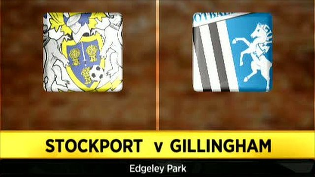 Stockport 1-5 Gillingham