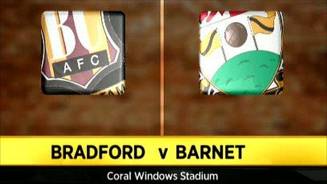 Bradford 1-3 Barnet