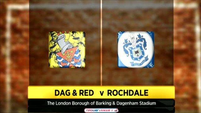 Dagenham & Redbridge 1-0 Rochdale