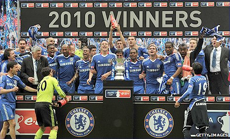 Chelsea are the FA Cup holders