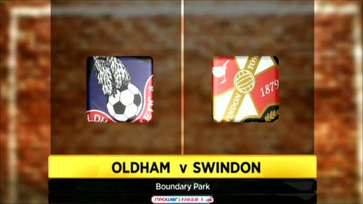 Oldham v Swindon