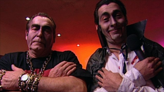 Bobby George and Colin Murray