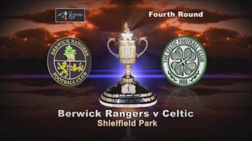 Berwick Rangers v Celtic