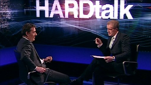 Jim O'Neill and Stephen Sackur