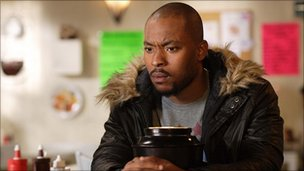 Arinze Kene in EastEnders