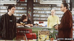 John Cusack and Tim Robbins in High Fidelity