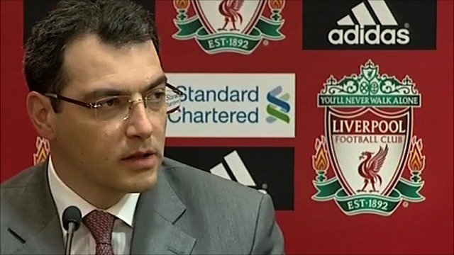 Liverpool's director of football strategy Damien Comolli