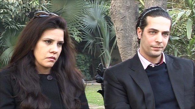 Sara Taseer and Sheryar Taseer