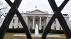 A flag atop the White House flew at half-staff on Monday morning