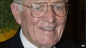 Maj Richard Winters in 2002