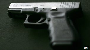 File photo of a Glock 9mm
