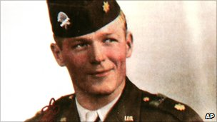 Maj Richard Winters in 1945
