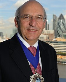 Alderman Michael Bear, Lord Mayor of the City of London