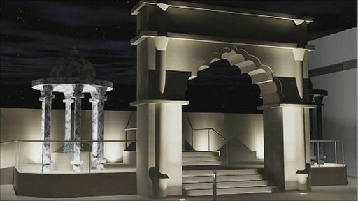 Artist impression of the Sikh War Memorial