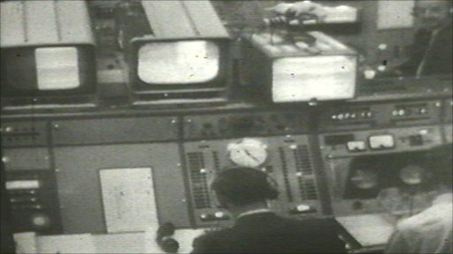 Goonhilly Control Room in 1962