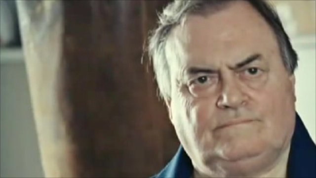 John Prescott in TV ad