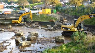 Work at River Loxley