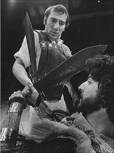 Pete Postlethwaite as Coriolanus