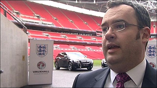 FA general secretary Alex Horne
