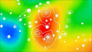 Cluster in Planck data (Planck Consortium)