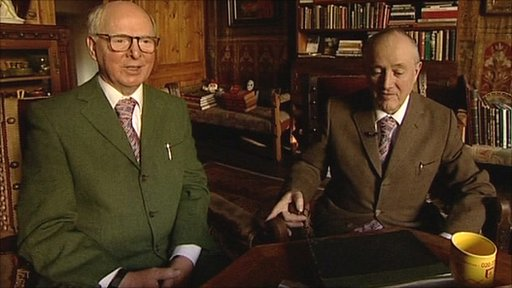 Gilbert (r) and George (l)